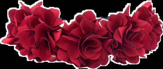 flowercrown ivory roses flowers garden