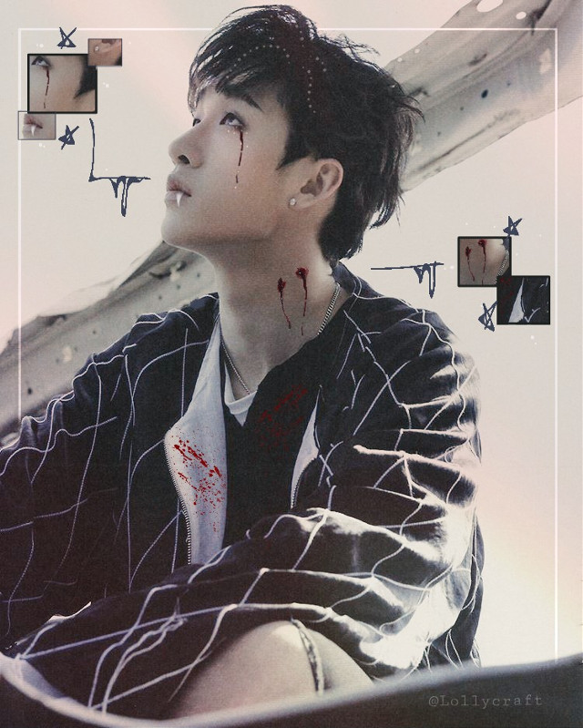 Vampire Bang Chan for @wingsofpassions 😎💜  Hope you like it😆😍  #kpop #bangchan #bangchanstraykids #straykids  #freetoedit