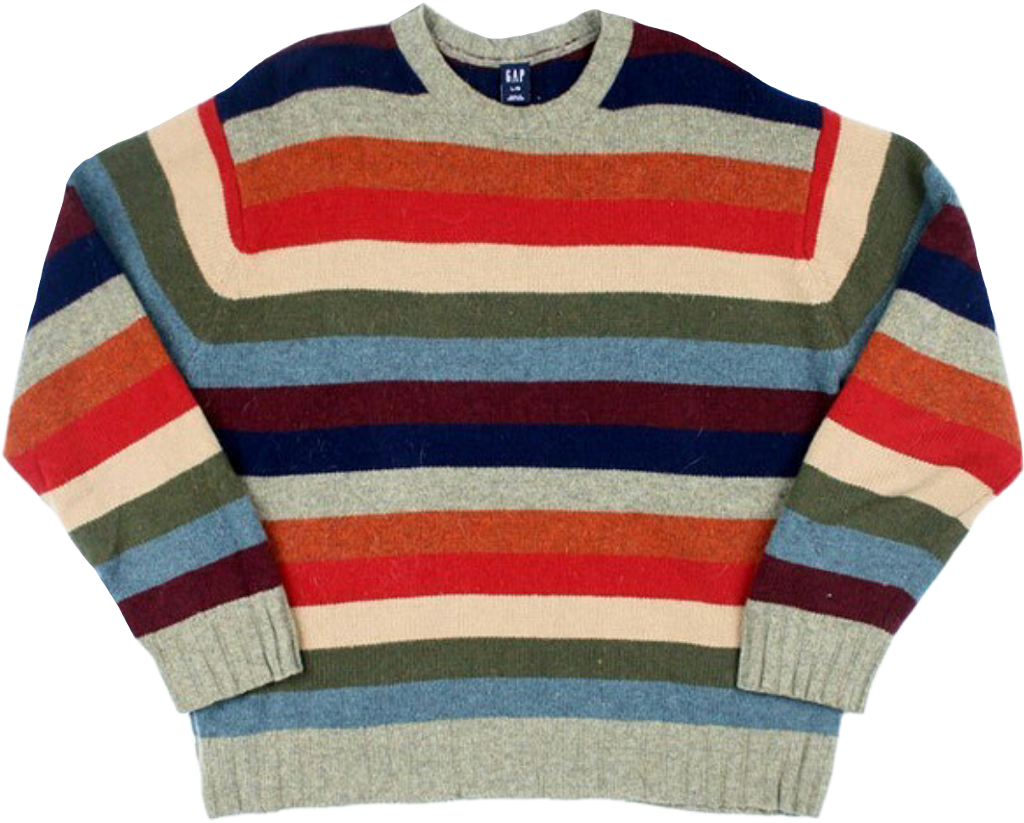 sweater striped clothing clothes top shirt aesthetic