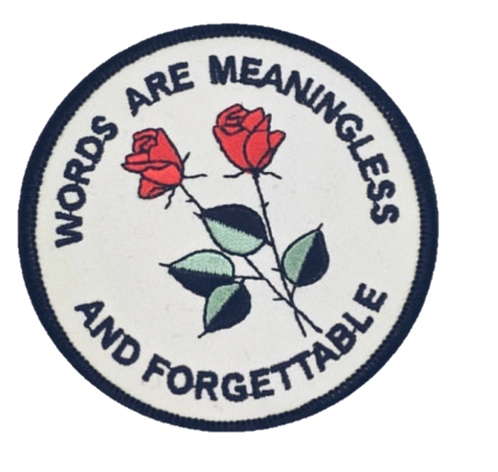 Rosas Frases Parche Tumblr Sticker By Nyahopeyou