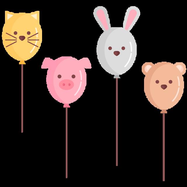 #balloon #animal  #cat #rabbit #pig #bear #cute #cuteanimal #cuteballoon  #scballoonanimal #balloonanimal #freetoedit