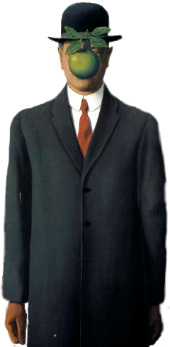 fineartfriday man suit apple freetoedit