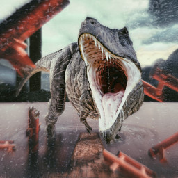 freetoedit vipshoutout dinosaur water drops ftestickers