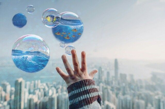 #freetoedit  #remix #remixed #sea #ocean #fish #bubbles #cute