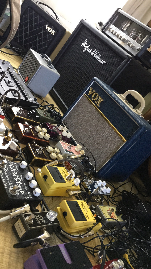 #pedals #effects #vemuram #boss #vox #fcgr #xotic #amps