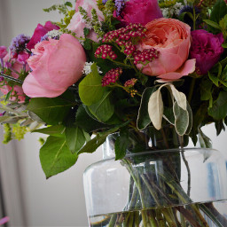 bunchofflowers beautiful summer colourful roses