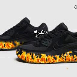 freetoedit shoesoftheday blackiseverything kingjay fanboy