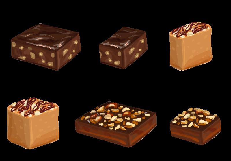 #fudge #brownie #bar #chocolate #nuts #desert