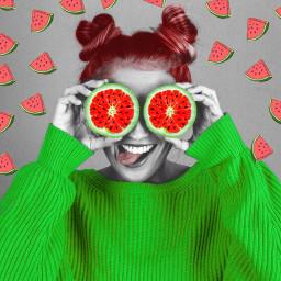 freetoedit remixme remix watermelon