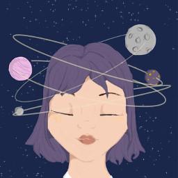 space spacegirl freetoedit remix remixit