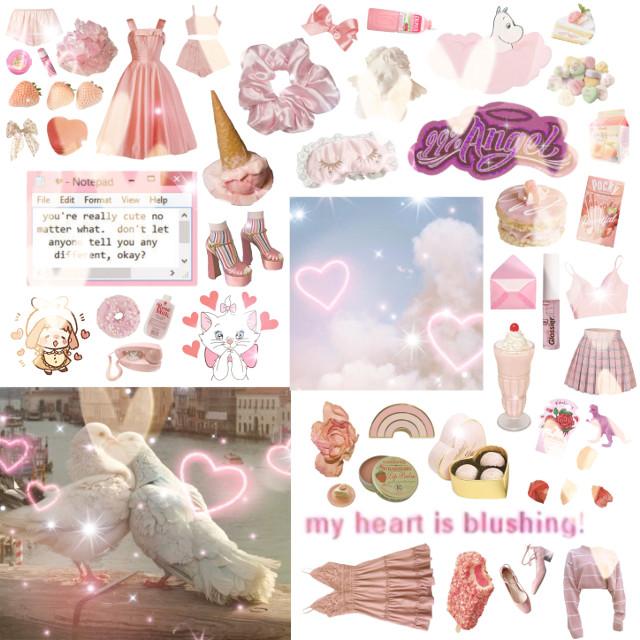 my gf #pink #moodboard #aesthetic