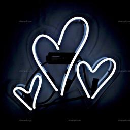 neonsigns freetoedit hearts