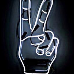 neonsigns freetoedit 2 peace