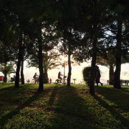 shadowhunter sunset travel photography bycicles freetoedit