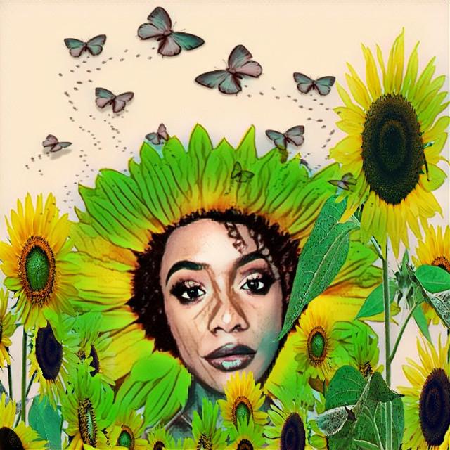 #freetoedit #remixit #greenmagiceffect #popsketchmagiceffect #ircsunflowersgalore