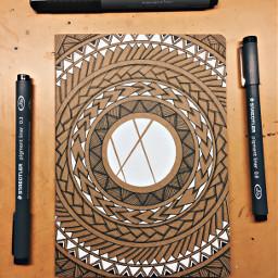 pcroundobjects roundobjects tribal maori black