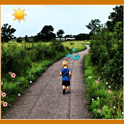 pathways kids whimsical outdoors