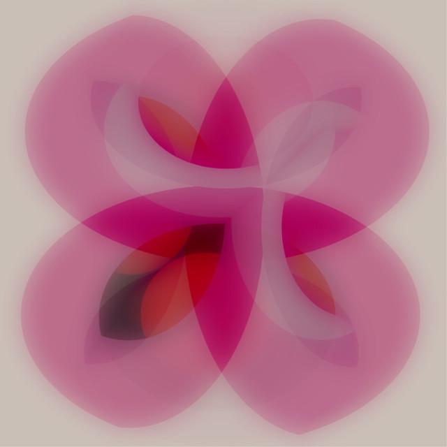 #freetoedit #abstractflower #pink #abstract #drawtool #drawshapes #circles