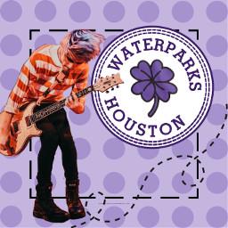 waterparks band music popmusic houston freetoedit
