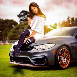 freetoedit car background girl