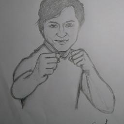 blackandwhite pencilart
