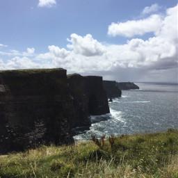 myphoto cliffsofmoher cliffs ocean sky freetoedit