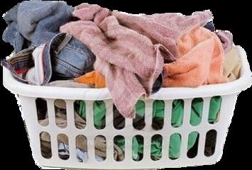 clothes pink basket laundry fashion