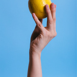 freetoedit hand hands lemon minimal