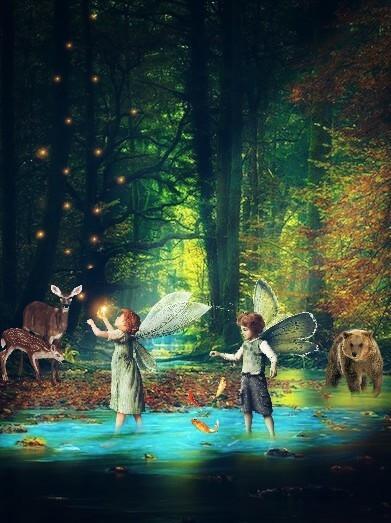 #freetoedit , #enchantedforest , #fairies