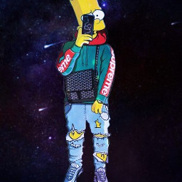 bart simpson simpsons thesimpsons bartsimpsons freetoedit