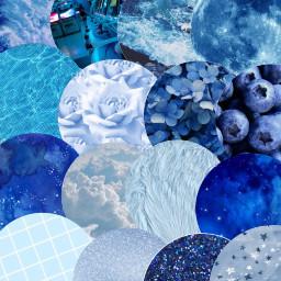 freetoedit blueaesthetic blue wallpaper