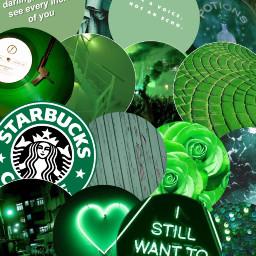 freetoedit green greenaesthetic greenwallpaper
