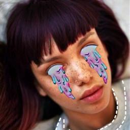 freetoedit girl picsart createdbyme eyes