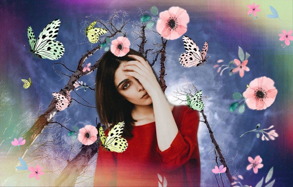 #freetoedit #picsart #edit by Smartphones #girl #nature #cute #colorful #myedit #attract#remix  #radiation #remixed