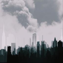 freetoedit buildings city black grey