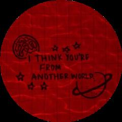 redaesthetic aesthetic aestheticsticker redcircle red freetoedit