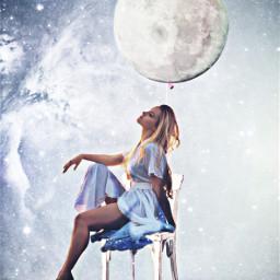 ircpinkballoon pinkballoon freetoedit moongirl woman