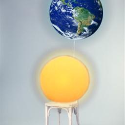 ircpinkballoon pinkballoon sun moon earth freetoedit