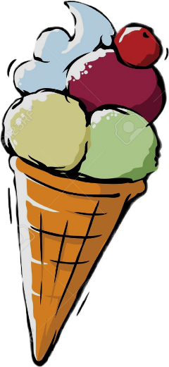 cornet glace icecream freetoedit