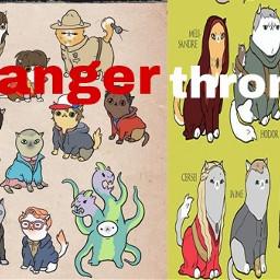 cats strangerthings gameofthrones strangerthrones character