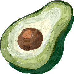 tumblr tumblrstickers avocados avocado adobe