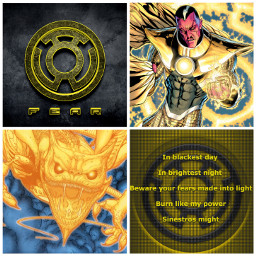 dc yellow lanterncorps