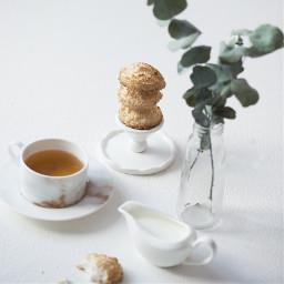 tea cookies milk evcalipt