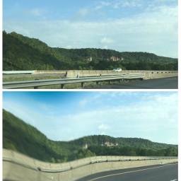 freetoedit warped bumpy highway travel