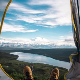 freetoedit tent travel feet mountain
