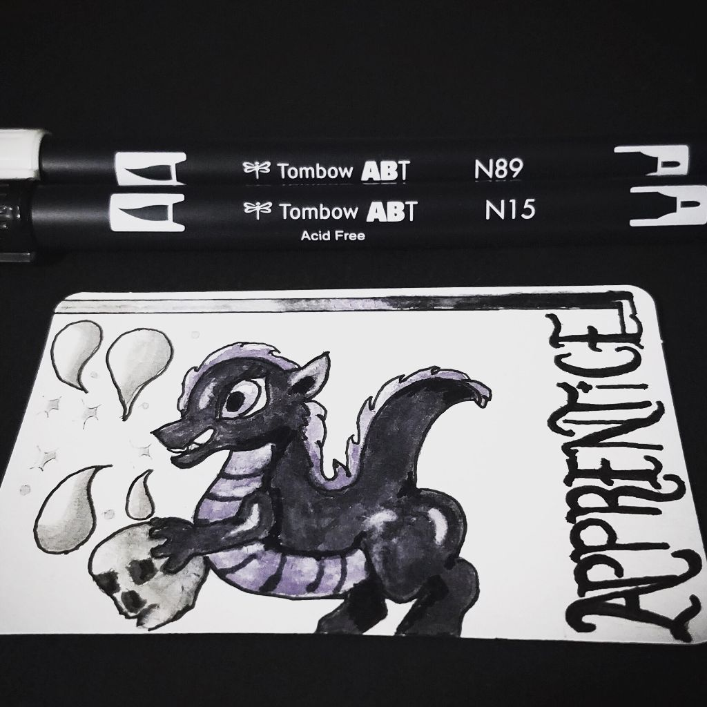 #art #artitupwithfriends #dragon #alysathena