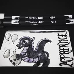 art artitupwithfriends dragon alysathena
