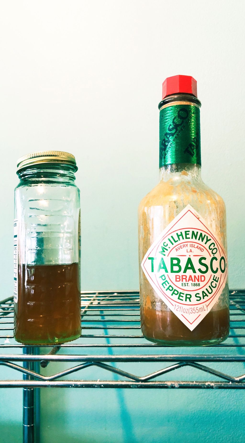 sweet and sour bottle glass hotsauce tabasco tabascosau