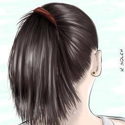 cartoonefect cartoonized hair picsartphoto freetoedit