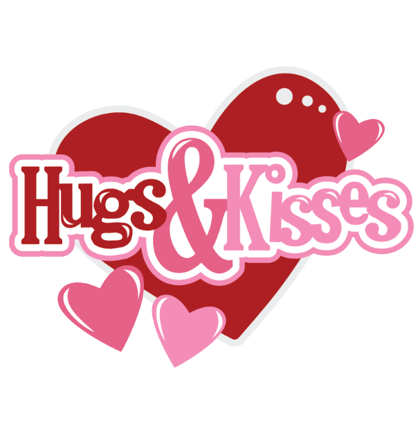 Hearts Hugsandkisses Hugs Kisses Hug Kiss Text Words